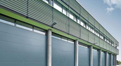 Puertas seccionales industriales_Puertas Ares