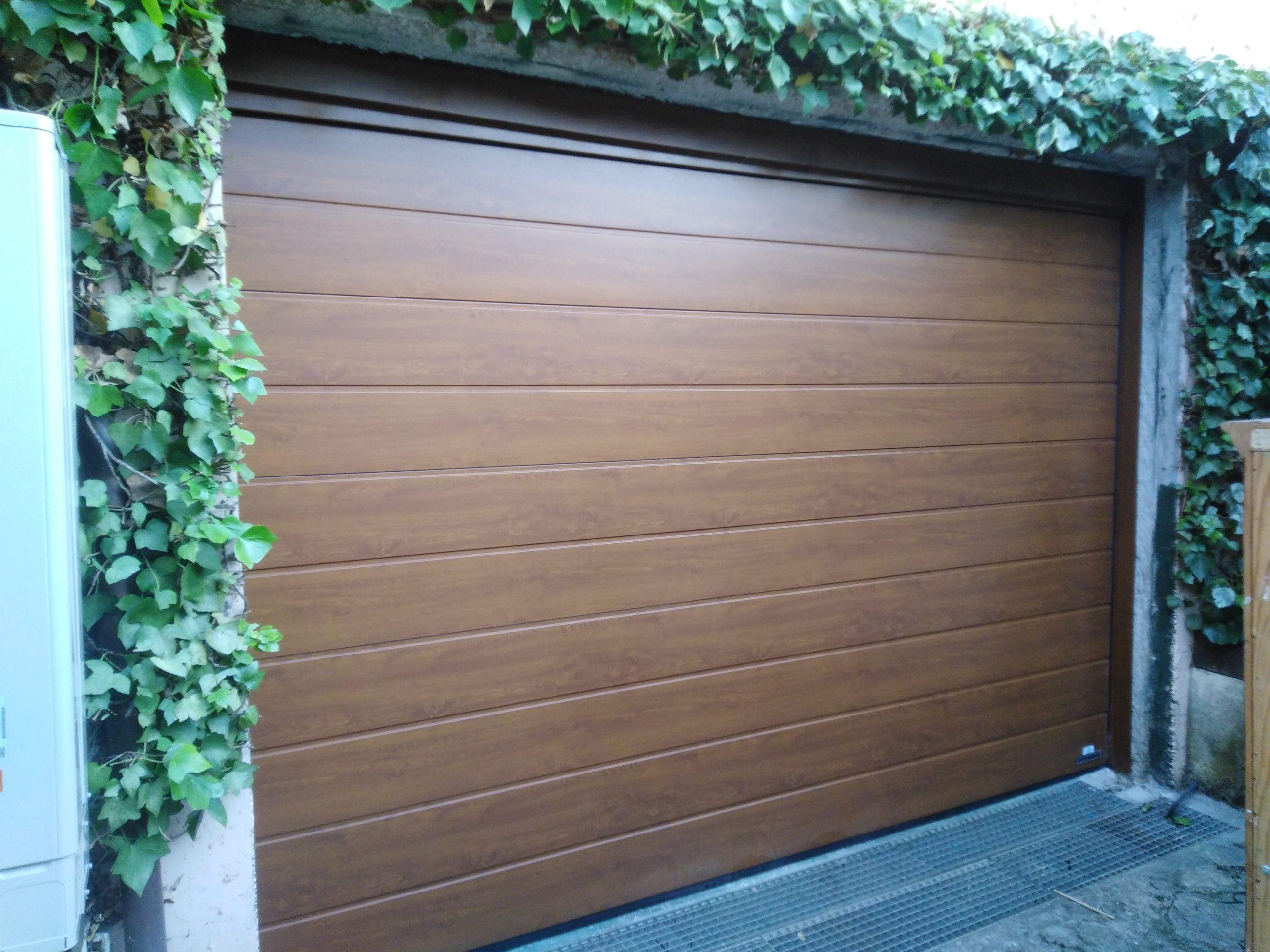 Puerta de garaje seccional Hörmann